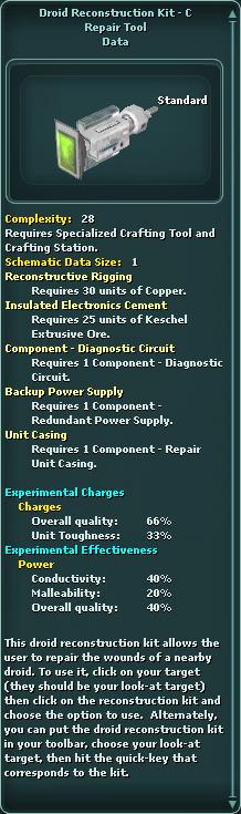 Droid Reconstruction Kit - C