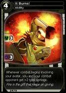 It Burns! (card)