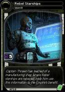 Rebel starships (card)