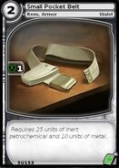 Small Pocket Belt (card)