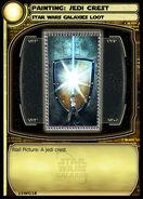 Painting - Jedi Crest (card)