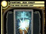 Painting: Jedi Crest (card)