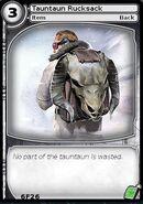Tauntaun Rucksack (card)