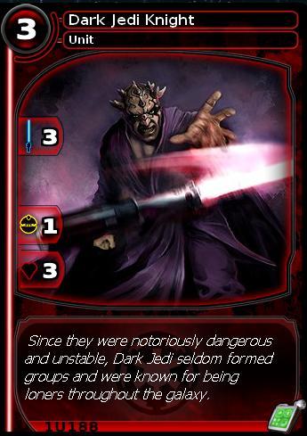 Dark Jedi Knight (card)