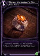 Elegant Combatant's Ring (card)