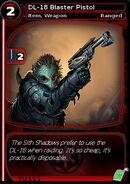 DL-18 Blaster Pistol (card)