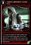 Lignan Lightsaber Crystal (card)