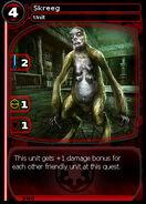 Skreeg (card)