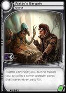 Watto's Bargain (card)