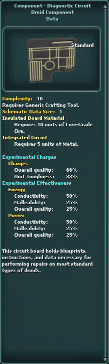 Component - Diagnostic Circuit