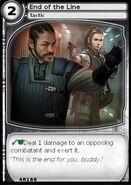 End of the Line (card)