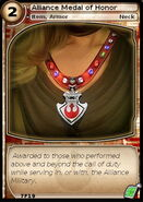 Alliance Medal of Honor (card)