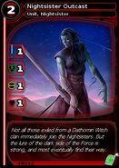 Nightsister Outcast (card)