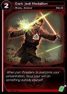 Dark Jedi Medallion (card)