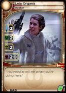 Leia Organa (Avatar) (card)