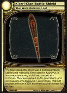 Klorri-Clan Battle Shield (card)