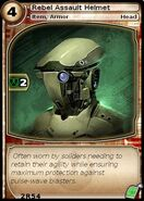 Rebel Assault Helmet (card)