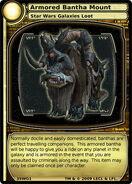 Armored Bantha Mount (card)