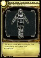 Battle Worn Composite Armor Kit (card)