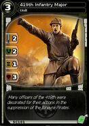 419th Infantry Major (card)