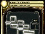 Cloud City Shelves