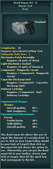 Droid Repair Kit - A