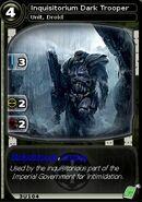 Inquisitorium Dark Trooper (card)