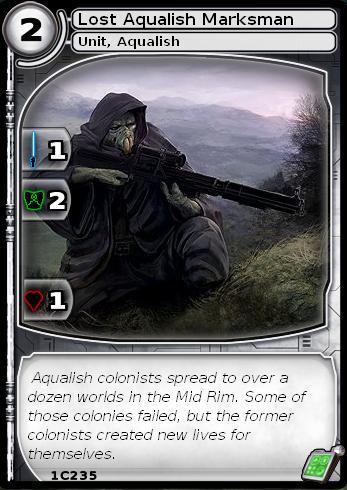 Lost Aqualish Marskman (card)