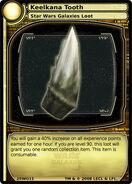 Keelkana Tooth (card)