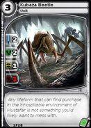 Kubaza Beetle (card)
