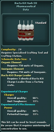 Bacta Kit Mark III