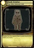 Ewok Greeter (card)