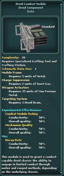 Module - Droid Combat