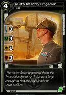 419th Infantry Brigadier (card)