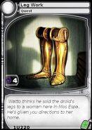 Leg Work (card)