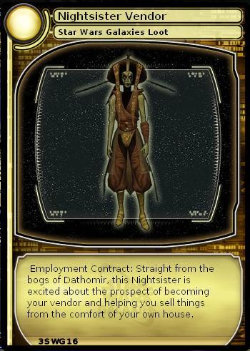 Nightsister Vendor (loot card)