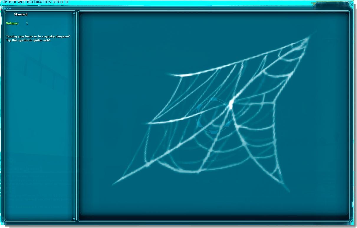 Spider Web Decoration Style III