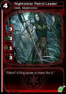 Nightsister Patrol Leader (card)