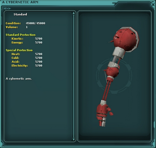 A Cybernetic Arm