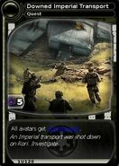 Downed Imperial Transport (card)