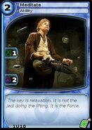 Meditate (card)