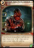 Rebel Spec Force General (card)