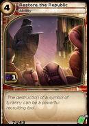 Restore the Republic (card)