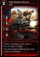 Sith Shadow Novice (card)