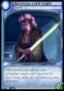 Becoming a Jedi Knight (card)