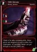 Sith Gloves (card)