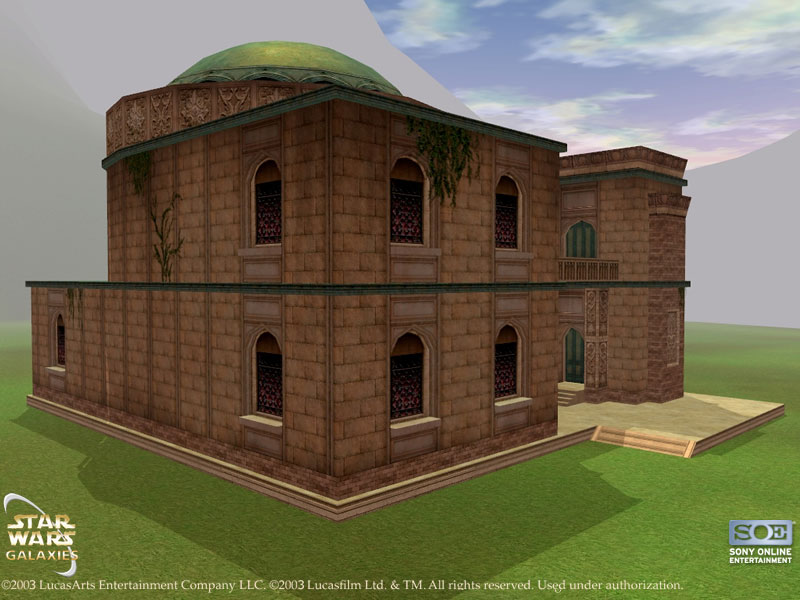 Medium Naboo House