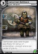 Gamorrean Battleaxe (card)