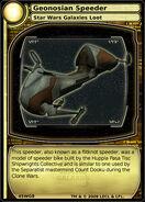 Geonosian Speeder (card)