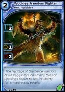 Wookiee Freedom Fighter (card)